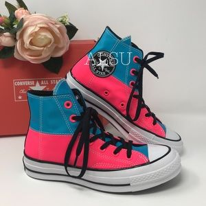 Converse Chuck 70 HI Racer Pink Blue W AUTHENTIC
